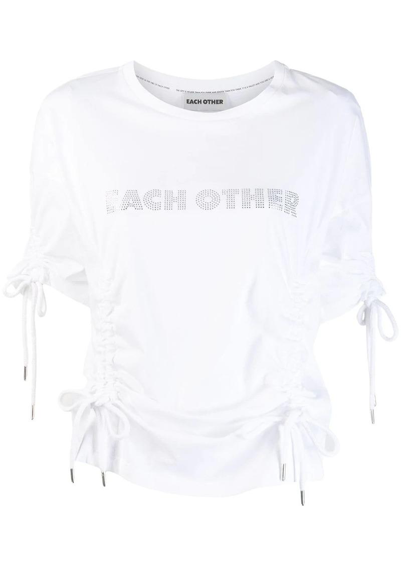 Each x Other drawstring T-shirt