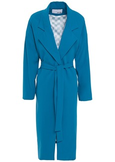Each X Other Woman Belted Crepe Coat Cobalt Blue