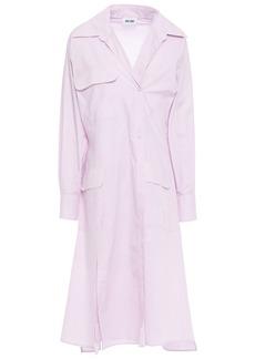 Each X Other Woman Poplin Shirt Dress Lilac