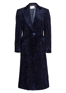 Each x Other Faux Astrakhan Coat