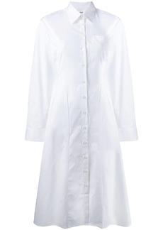 Each x Other fitted poplin shirt dress