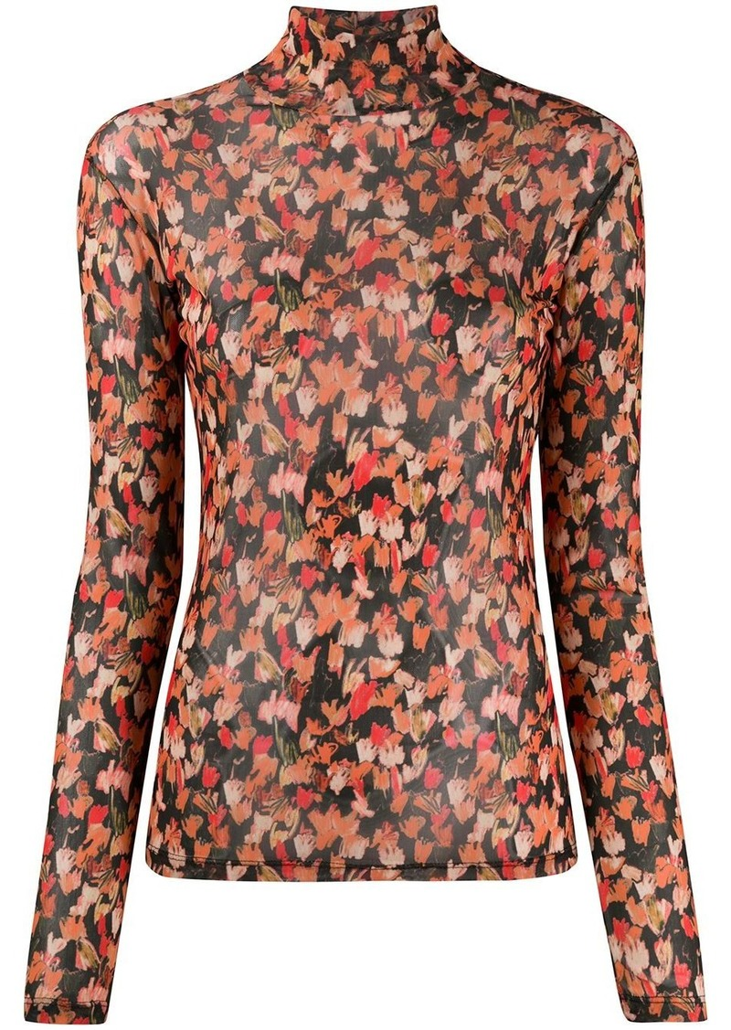 Each x Other high neck long sleeved top