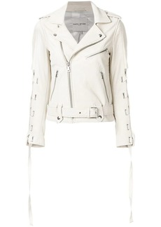 Each x Other lace-up sleeve biker jacket