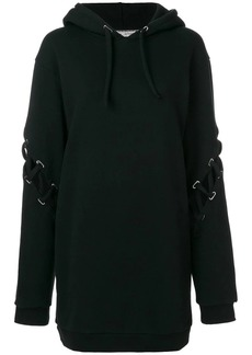 Each x Other lace-up sleeve oversized hoodie