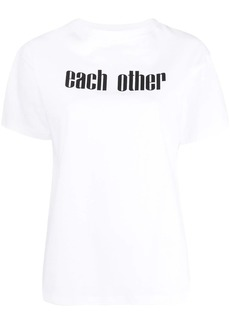 Each x Other printed logo T-shirt
