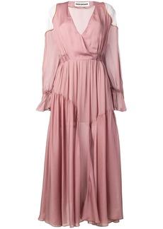Each x Other romantic colour block dress