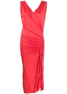 Each x Other ruched side dress