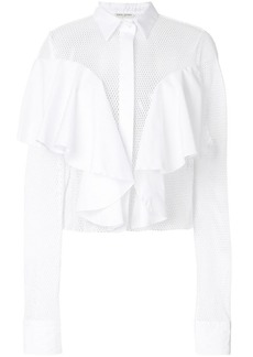 Each x Other ruffle detail shirt