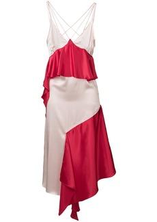 Each x Other ruffled asymmetric dress