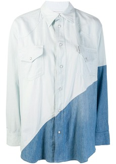 Each x Other two-tone denim shirt