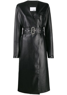 Each x Other vegan leather coat
