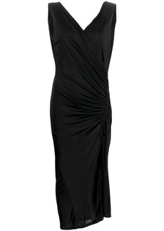 Each x Other wrap front asymmetric dress