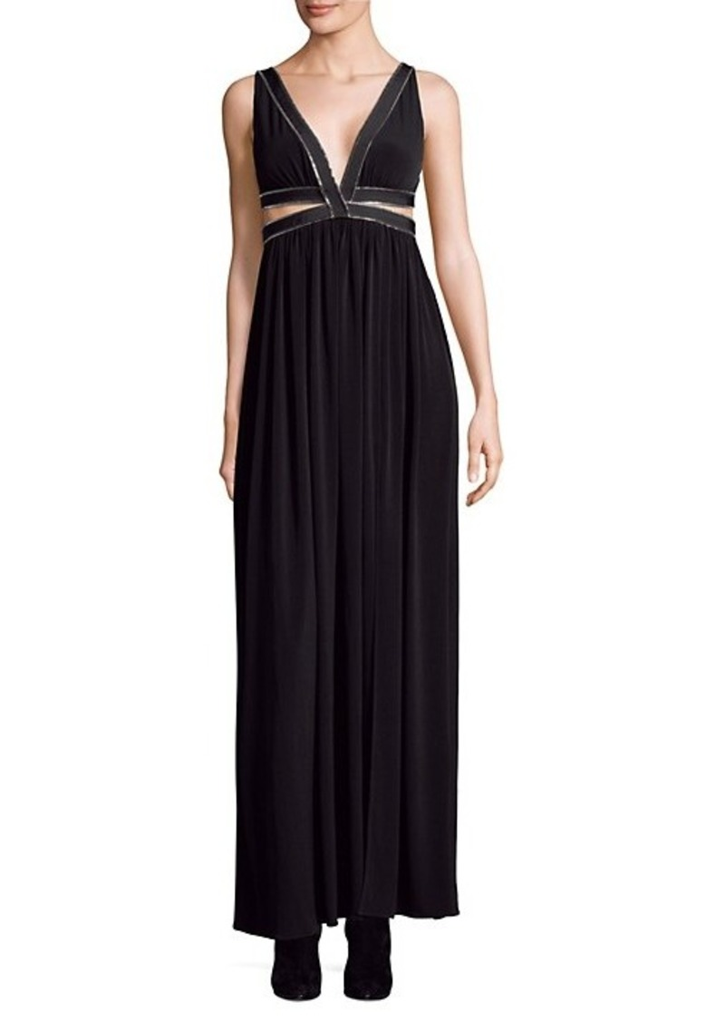 Each x Other Zip-Detail Maxi Dress