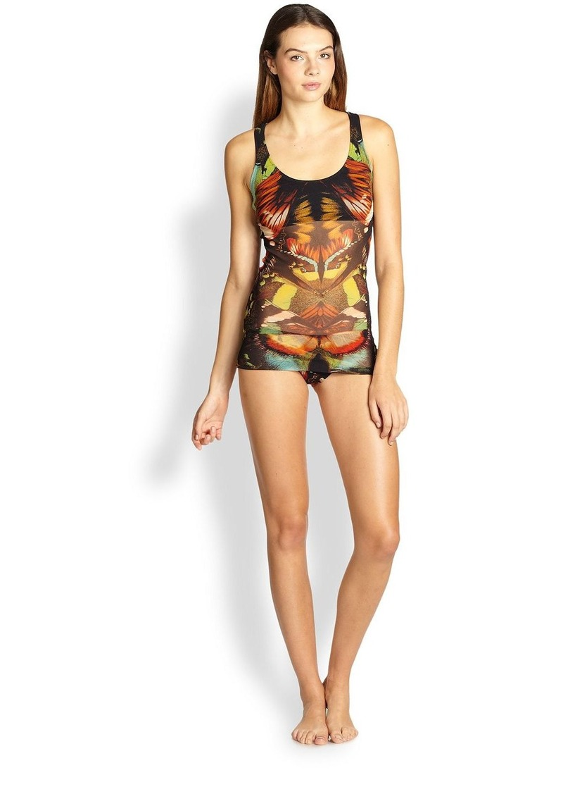 Jean Paul Gaultier Two-Piece Butterfly Tankini