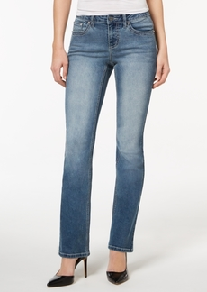 Earl Jeans Floral-Pocket Bootcut Jeans