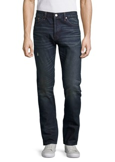Earnest Sewn Bryant Straight-Leg Five-Pocket Jeans