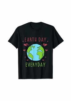Climate Change Recycle Make Every Day Earth Day T-Shirt