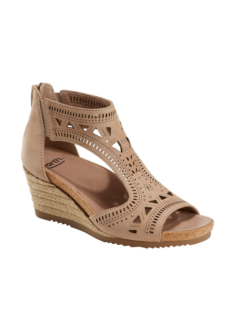 Earth® Barbuda Wedge Sandal (Women)
