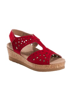 Earth® Buran Rosa Wedge Sandal (Women)