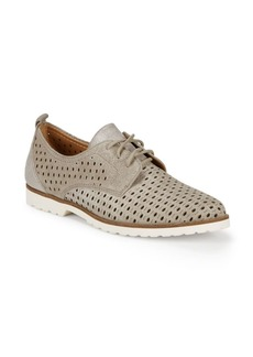 Earth Camino Perforated Leather Shoes
