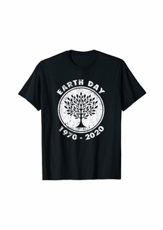 Earth Day 50th Anniversary 2020 Climate Change tree T-Shirt