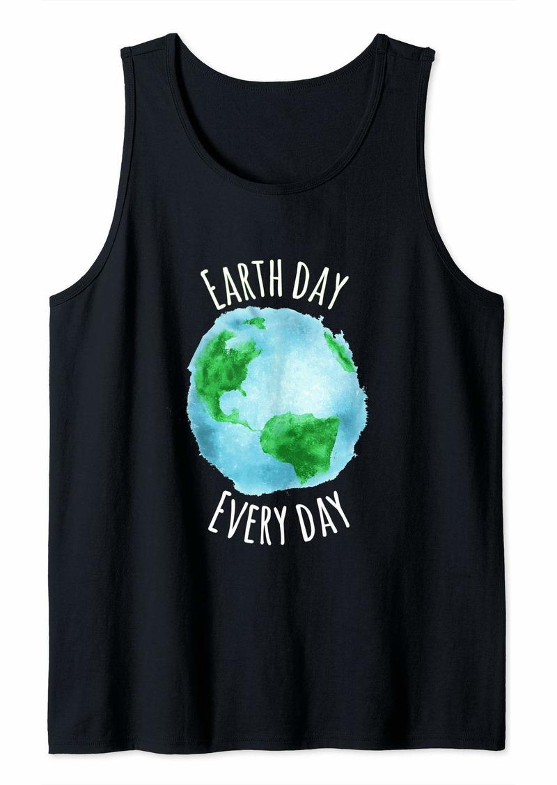 Earth Day Everyday Women Kid Shirt - Happy Earth Day 2019 Tank Top