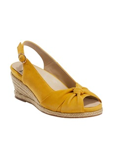 Earth® Thara Bermuda Peep Toe Wedge Sandal (Women)