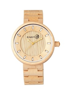 Earth Wood Branch Wood Bracelet Watch Khaki 45Mm