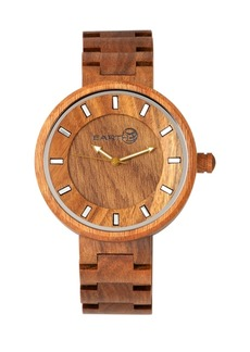 Earth Wood Branch Wood Bracelet Watch Olive 45Mm