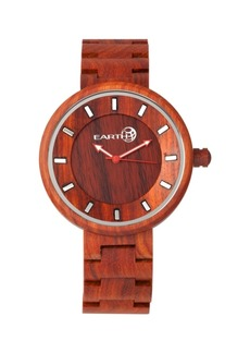 Earth Wood Branch Wood Bracelet Watch Red 45Mm