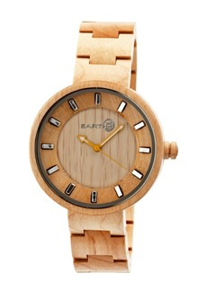 Earth Wood Root Wood Bracelet Watch Khaki 41Mm