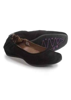 Earthies Tolo Ballet Flats - Suede (For Women)