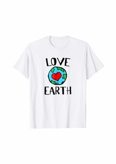 Love Earth Women and Kids Earth Day T-Shirt