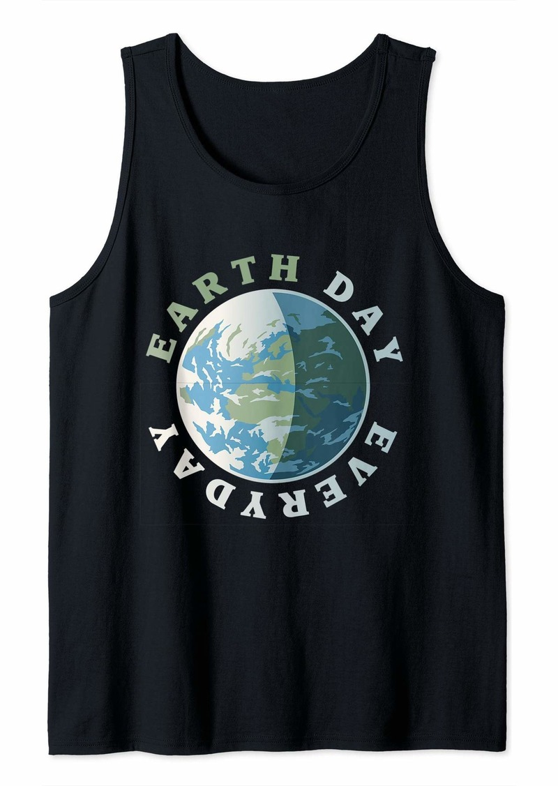 Retro Earth Day Everyday Gift  Tank Top