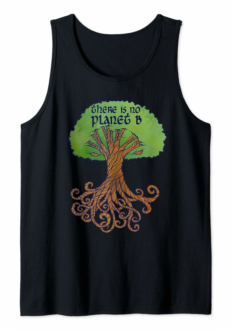 There is no Planet B Yggdrasil earth day Tank Top