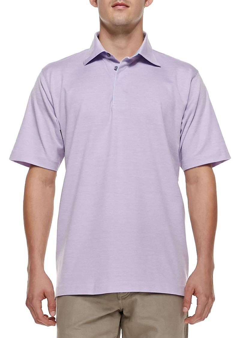 Ermenegildo zegna ermenegildo zegna pique short sleeve for Zegna polo shirts sale