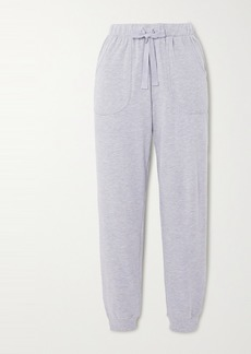 Eberjey Blair Stretch Pima Cotton And Modal-blend Track Pants
