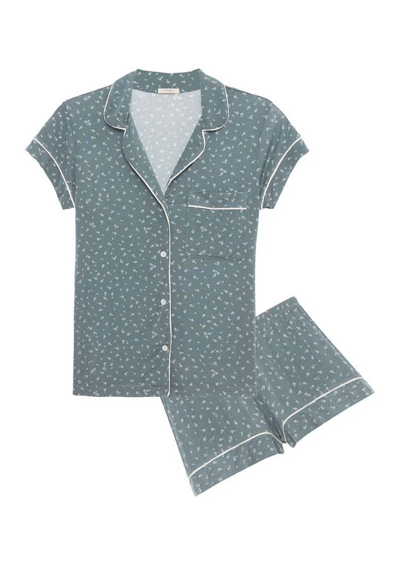 Eberjey Bloom Short Pajama Set
