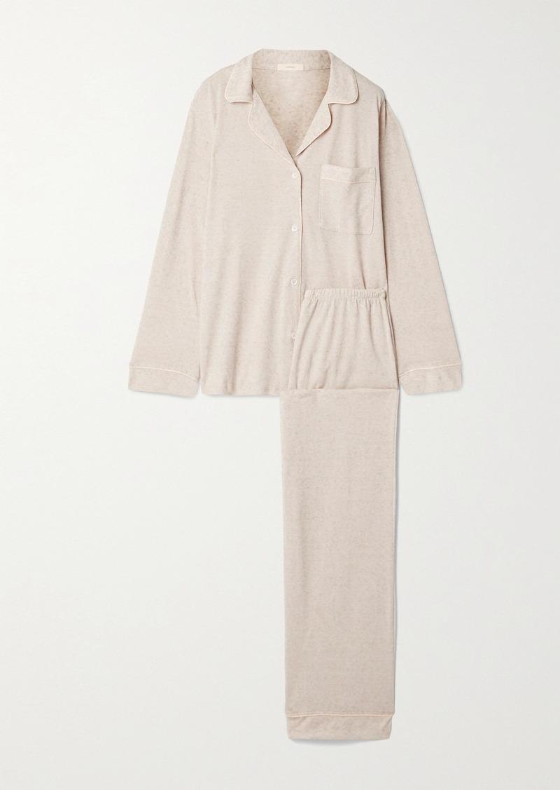 Eberjey Bobby Piped Jersey Pajama Set