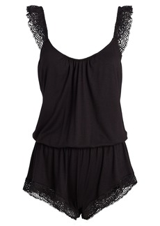 Eberjey Cecilia Enchanted Teddy Romper