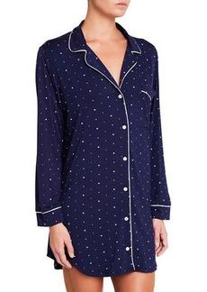 Eberjey Chic Long-Sleeve Sleepshirt