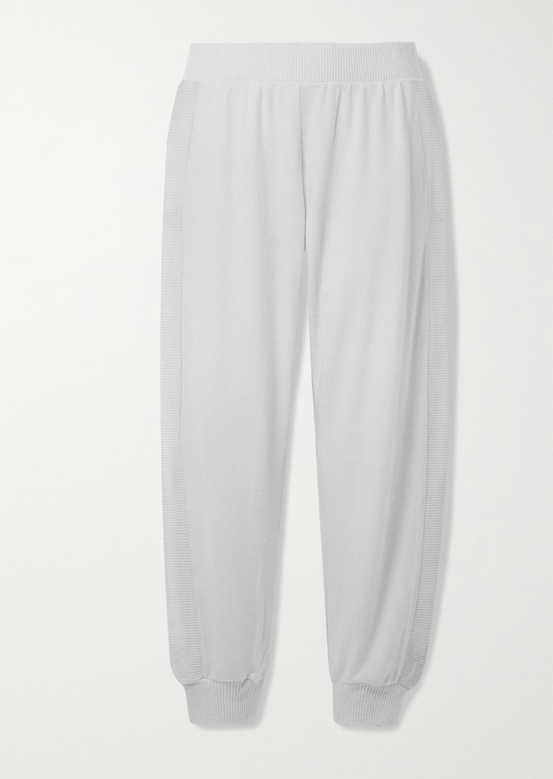 Eberjey Cozy Time Stretch Modal-blend Track Pants