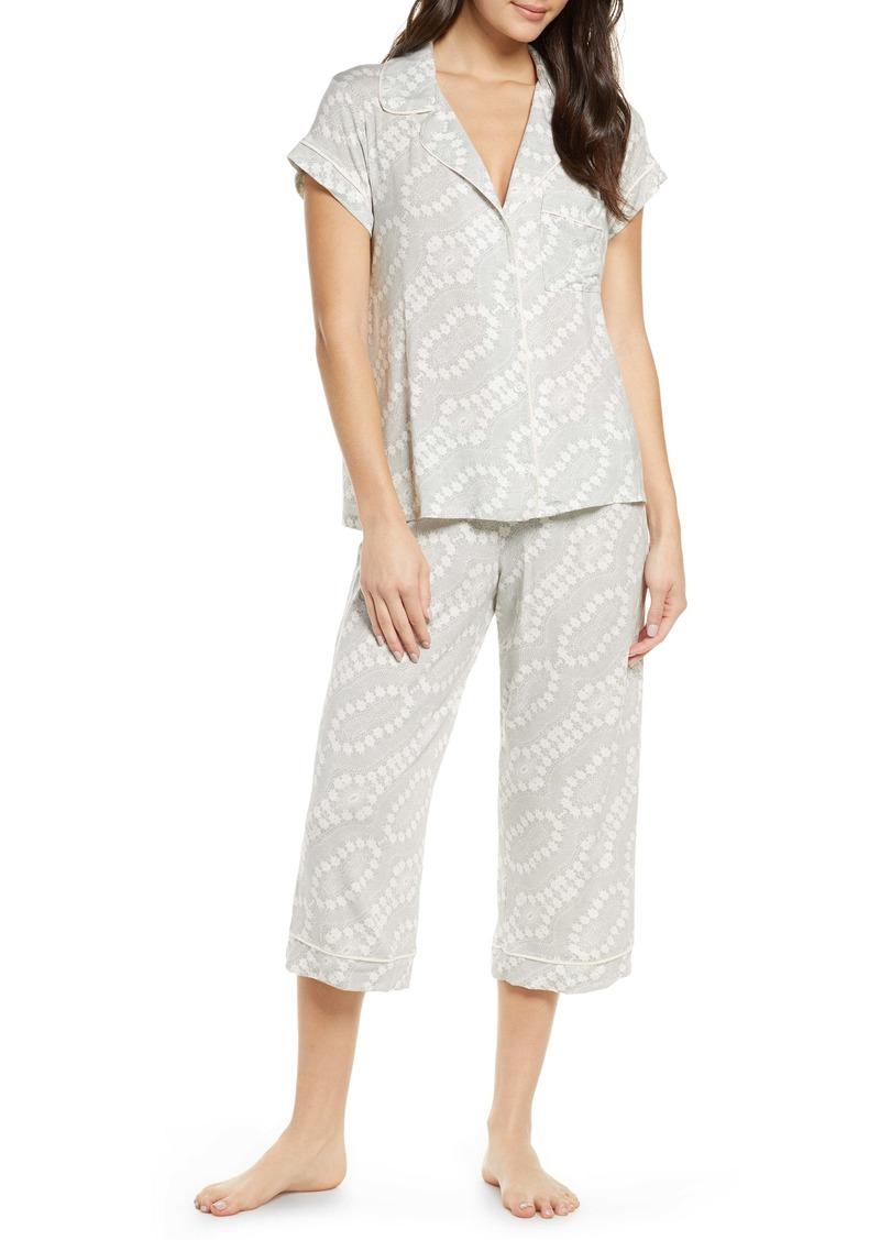 Eberjey Crop Pajamas