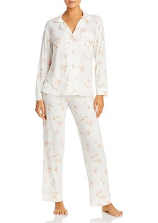 Eberjey Floral Print Pajama Set