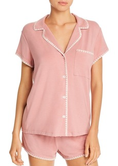 Eberjey Frida Whipstitch Short Pajama Set - 100% Exclusive
