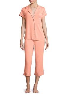 Eberjey Gisele Cropped Pajama Set