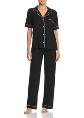 Eberjey Gisele Short Sleeve Long Pant Pajama Set