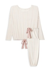 Eberjey Gisele Striped Pajama Set