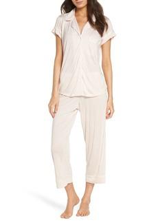 Eberjey Giselle Crop Pajamas