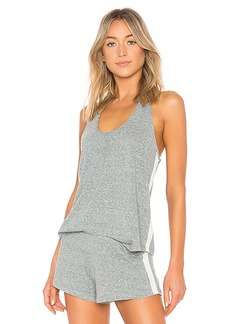 eberjey Heather Active Tank